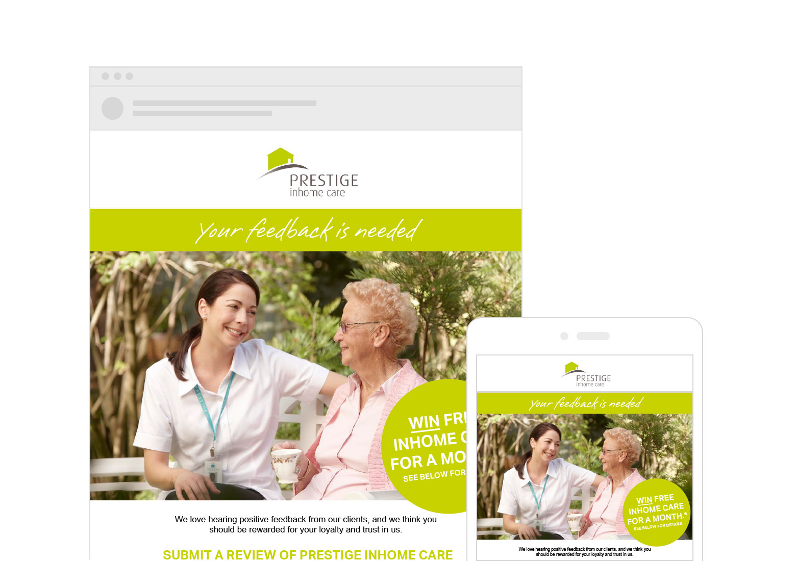 Prestige Inhome Care by Rising Creative